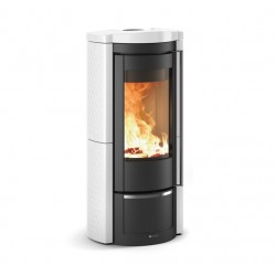 Cast iron wood burning stove LIÙ
