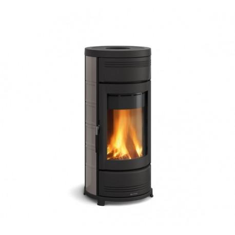 Round shaped wood burning stove HELGA EVO, LA NORDICA