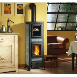 Wood burning stove with cooking oven FULVIA FORNOWood burning stove with cooking oven FULVIA FORNO