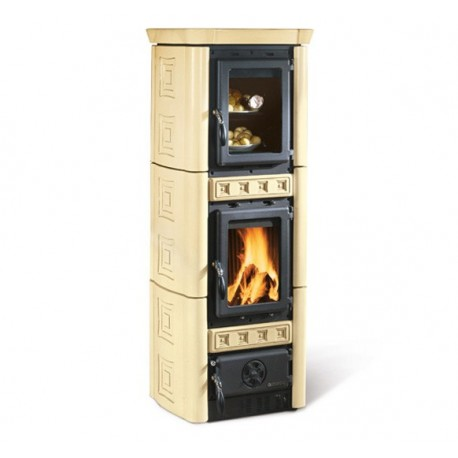 Wood burning stove with cooking oven FULVIA FORNOWood burning stove with cooking oven GAIA FORNO