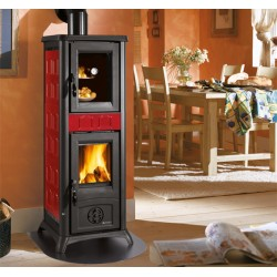 Wood burning stove with cooking oven GEMMA FORNO