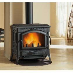 Cast iron wood burning stove ISOTTA  EVO