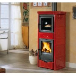 Wood burning stove  NICOLETTA FORNO EVO