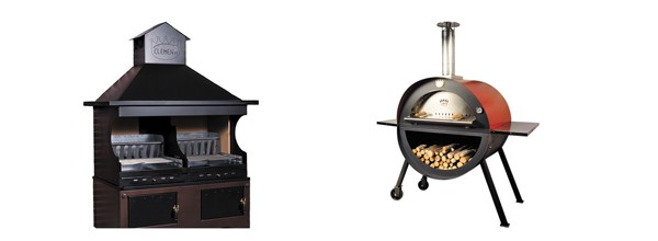 OUTDOOR OVENS &  BARBECUES
